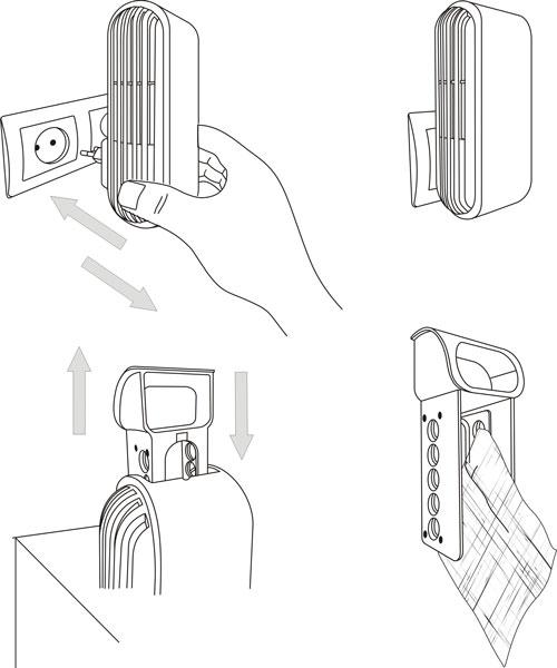 """Воздухоочиститель-ионизатор """"АТМОС HG-150"""""""