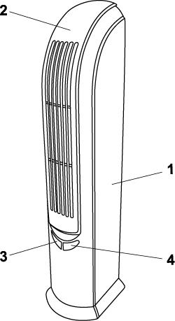 """Воздухоочиститель-ионизатор """"АТМОС HG-502"""""""